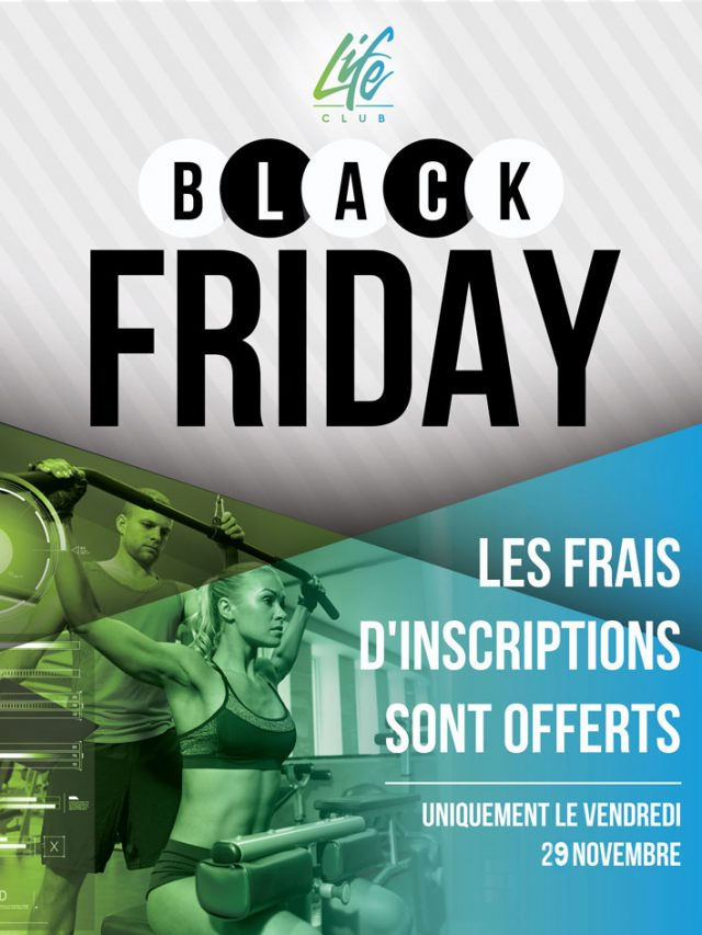 Black Friday salle de sport Marseille