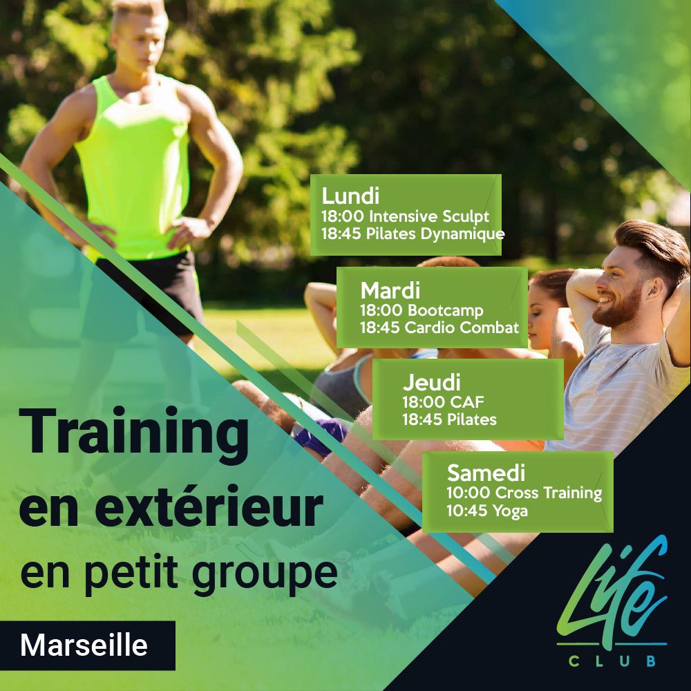Cours fitness en exterieur Marseille