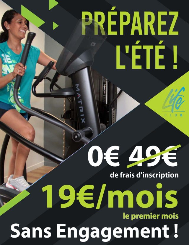 Reouverture offre fitness